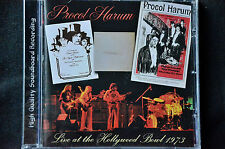Procol Harum Live At The Hollywood Bowl 1973 CD New
