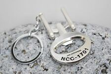 Star Trek Enterprise Botttle Opener Key Ring Keychain UK Seller Fast Delivery