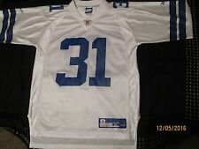 DALLAS COWBOYS,#31,R.WILLIAMS,JERSEY,MED, NFL PLAYERS,ON FIELD,FOOTBALL,WHITE