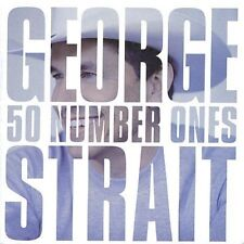 "GEORGE STRAIT 50 #1's 2CD BRAND NEW Number Ones Best Of Incl ""I Hate Everything"""