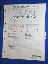 YAMAHA T-1060 TUNER SERVICE MANUAL ORIGINAL FACTORY ISSUE