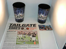 "2013 HOUSTON TEXANS PLAYOFF COLLECTOR PACKAGE ""NEW"" FULL OF FAN COLLECTIBLES"