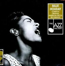 THE COMPLETE BILLIE HOLIDAY ORIGINAL AMERICAN DECCA RECORDINGS 2-CD JAZZ SET!