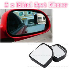 2 x Adjustable Side Rearview Blind Spot Rear View Auxiliary Mirror For Car Auto