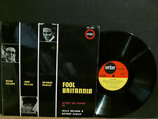 FOOL BRITANNIA   Soundtrack   LP  Joan Collins  Peter Sellers Anthony Newley