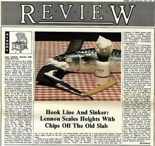 SL28/11/75p43 Album Review & Picture : John Lennon's Shaved Fish