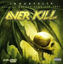 OVERKILL-Immortalis / Live At Wacken CD NEW