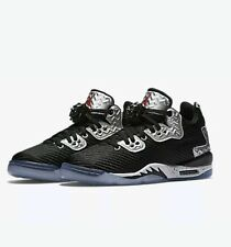 NIKE AIR JORDAN SPIZIKE FORTY LOW 833460 002 UK 5.5 EU38.5 BLACK/PURE PLATINUM!!