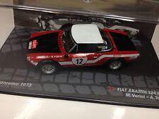 IXO 1:43 FIAT ABARTH 124  RALLY SANREMO 1973 VERINI -RALLY MODEL CAR SCALE