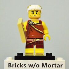 New Genuine LEGO Roman Emperor Minifig with Slate Tile Series 9 71000