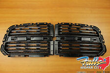 2013-2016 Dodge Ram 1500 Horizontal Black & Chrome Grille Inserts Mopar OEM