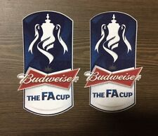 Sporting ID Official FA Cup Patch Badge Player Size 2011/12 2012/13 Budweiser