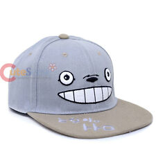My Neighbor Totoro Face Sanpback Hat Trucker Flat Bill Cap