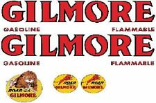 CUSTOM GILMORE TANKER DECAL SET