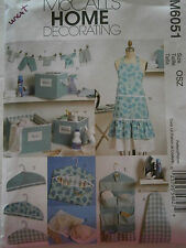 UNCUT McCall's Pattern M6051 Home Decor Apron Clothespin Holder Ironing Board
