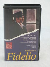 Beethovan FIDELIO VHS Tape Royal Opera House Covent Garden Home Vision 1991