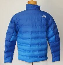 New $349 NORTH FACE 700 Down Puffer Jacket MEDIUM M Winter Coat Blue FUSEFORM