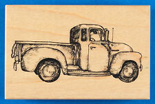 PSX Vintage Pickup Truck Rubber Stamp G-2458 Old Classic 1950s Truck