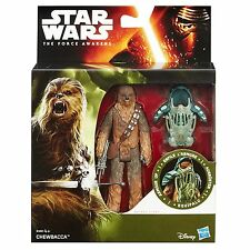 Star Wars The Force Awakens 3.75-Inch Figure Forest Mission Armour Up CHEWBACCA