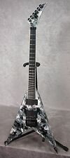 NEW! NAMM 2016 USA Jackson Custom Shop King V guitar in Digital Camo finish OHSC