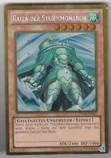 YU-GI-OH Raiza der Sturmmonarch Gold Rare PGLD-DE062
