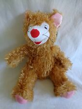 "Toymax XYZ Plush Mouse Rat Stuffed Animal 14"" Brown Pink"