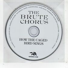 (FV785) The Brute Chorus, How The Caged Bird Sings - 2010 DJ CD