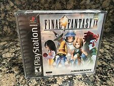 Final Fantasy IX 9 Brand New Black Label Factory Sealed Playstation PS1 1 PS2 3