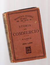 storia del commercio - r larice - manuali hoepli - october undecimus