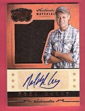 NEAL MCCOY AUTOGRAPH WORN MEMORABILIA RELIC SWATCH CARD PANINI COUNTRY MUSIC