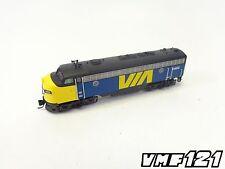 N VIA Rail FP7A Locomotive #1403 DCC Ready - InterMountain #69909-02