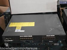 Cisco DS-C9124-K9 MDS 9124 Fabric Switch w/ 8 Active Ports & DUAL AC Power