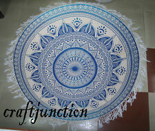 Star Round Mandala Throw Roundie Hippie Tapestry Yoga Mat Towel Beach tablecloth
