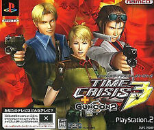 Time Crisis 3 + GUNCON 2 Playstation2 PS2 Import Japan