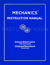 Graham Brothers Truck Repair Shop Manual 1922 1923 1924 1925 1926 1927
