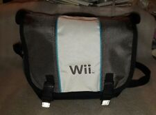Nintendo Wii Carrying Case Messenger Travel Bag With Strap Authentic Nintendo