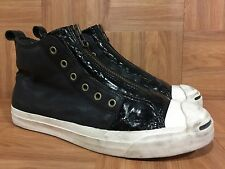 RARE�� Converse Aloha Rag Jack Purcell Sneakers 10.5 124133 Stud Skull Leather