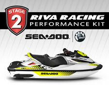 SEADOO RXT-X 300 GTX Ltd 300 STAGE 2 Kit 81+ MPH RIVA SOLAS SX-CD-13/18R and PF