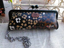 NWT BRIGHTON CELEBRATES VERA CLUTCH PURSE/LEOPARD MSRP $150
