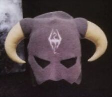 The Elder Scrolls V 5 Skyrim Special Edition Dovahkiin Mask Winter Hat (No Game)