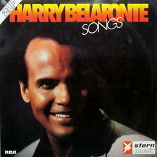 "12"" DLP Harry Belafonte Songs (Haiti Cherrie, Lyla, This Land Is Your Land) RCA"