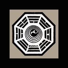 """LOST Dharma Initiative Embroidered patch """"Orchid"""""""