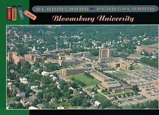 Aerial View of Bloomsburg University Campus, Pennsylvania, PA Town --- Postcard