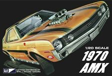 MPC Model Kits [MPC] 1:20 1970 AMC AMX Plastic Model Kit MPC814