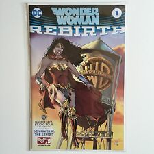 WONDER WOMAN Rebirth #1 DC Comics/Warner Bros WATER TOWER Variant Book MINT 75th
