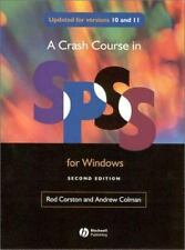Crash Course in SPSS for Windows: Versions 10 and 11