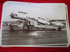 NEW 1954 PLYMOUTH ON CAR CARRIER  11 X 17  PHOTO /  PICTURE