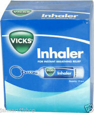 50x Vicks Inhaler nasal congestion blocked stuffy nose Cold (12 unit box)=600