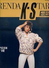 BRENDA K-STARR suspicion 12INCH  45 RPM 1985  GERMAN