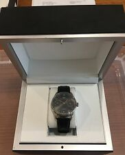 Iwc White Gold Portuguese 7 Days With Grey Dial Watch C51010